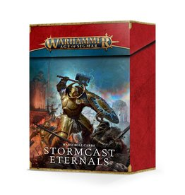 Games Workshop AOS WARSCROLL CARDS:  STORMCAST ETERNALS