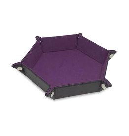 BCW Dice Tray: Hexagon- Purple