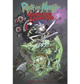 Rick and Morty Versus Dungeons & Dragons Volume 01 Trade Paperback (TPB)/Graphic Novel