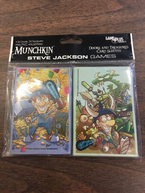 Steve Jackson Games Sleeves: Munchkin Sleeves: Doors and Treasures