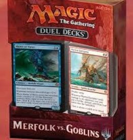Wizards of the Coast Mtg Duel Decks: Merfolk vs Goblins