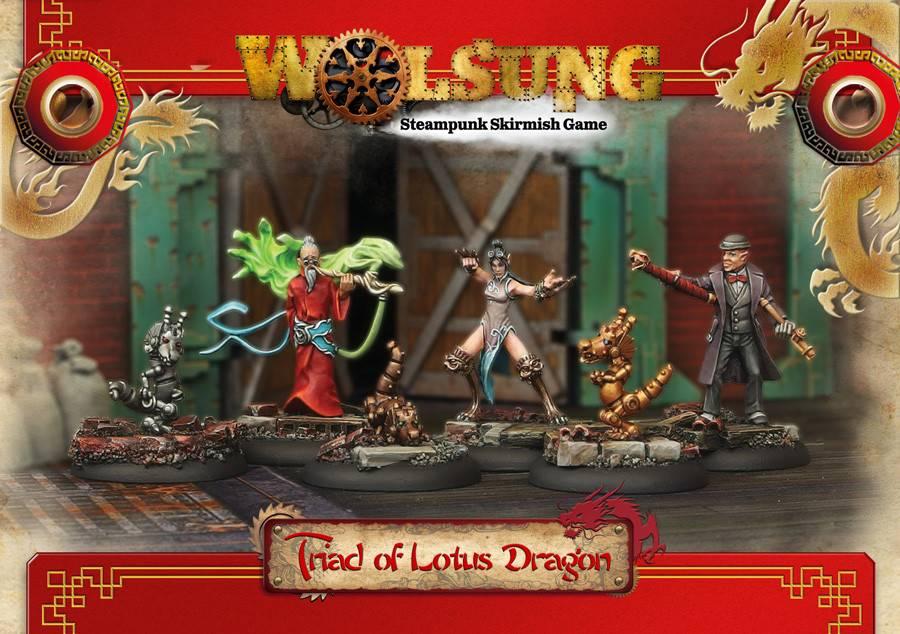 Wolsung Triad of Lotus Dragon Starter