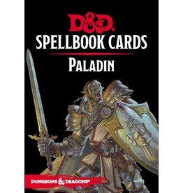 Gale Force Nine D&D 5e Spellbook Cards Paladin