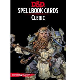 Gale Force Nine D&D 5e Spellbook Cards Cleric
