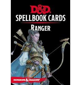 Gale Force Nine D&D 5e Spellbook Cards Ranger