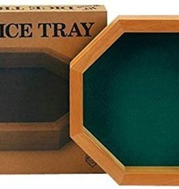 "10"" WOOD DICE TRAY"