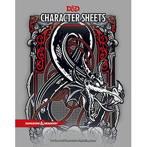 Wizards of the Coast D&D Character Sheets