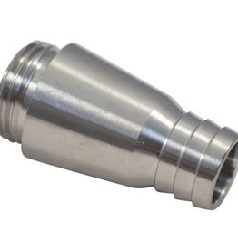 Growler Filling Spout - Stainless Steel Fits Intertap Faucets
