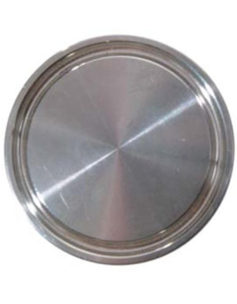 """1-1/2"""" Tri-Clamp End Cap - Stainless"""