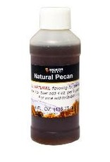 Natural Pecan Flavoring Extract 4 oz