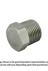 """Hex Head Plug - 1/4"""" MPT"""