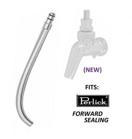 Growler / Jug Filler - Stainless Steel Fits Perlick 600 Series Faucets