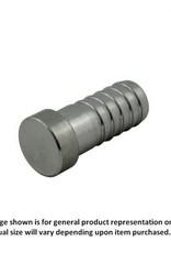 """Plug - Stainless Steel - 1/4"""" Barb"""