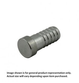 "Plug - Stainless Steel - 1/4"" Barb"