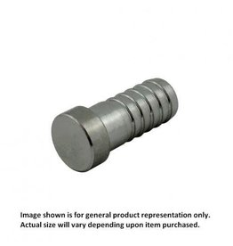 "Plug - Stainless Steel - 5/16"" Barb"
