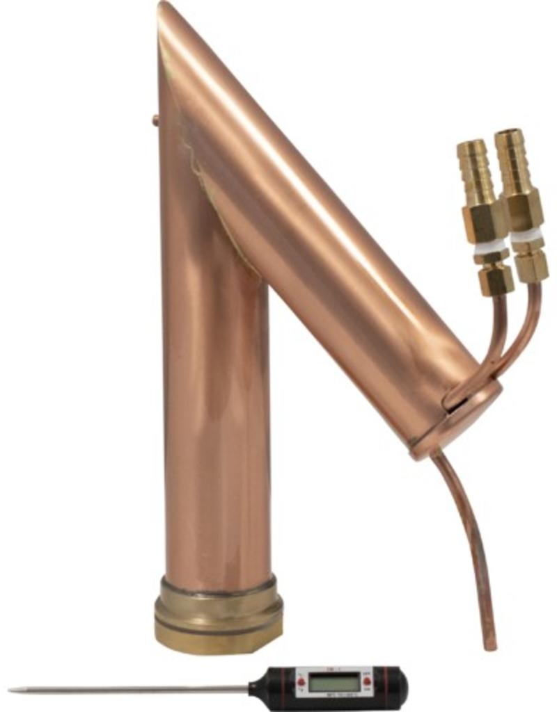 Distillation Copper Pot Still Top - Fits Robobrew or Turbo Boiler