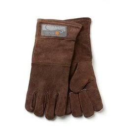 "BBQ Leather Grill Gloves - 15"" Set of 2"