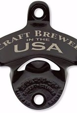Bottle Opener - Craft Brewed in the USA - Black