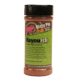 """Ish"" Fusion Blend Bayou-ish Rub Seasoning Spice - Dizzy Pig - 8 oz Shaker Bottle"