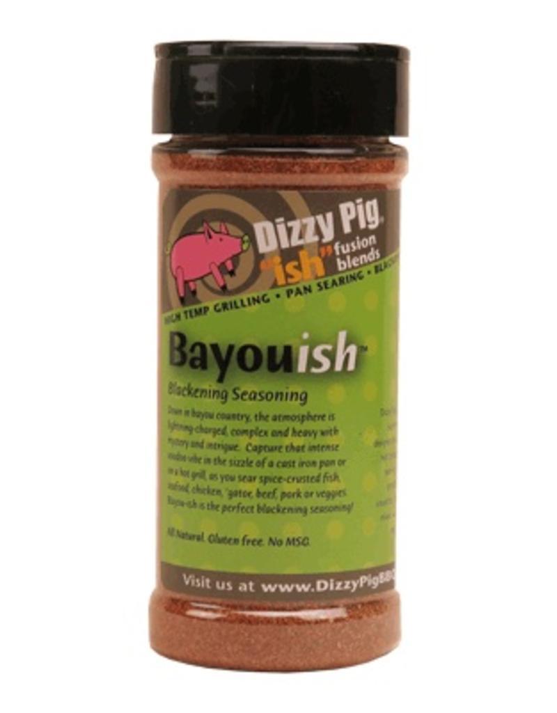 """Ish"" Fusion Blend Bayou-ish Rub Seasoning Spice - Dizzy Pig - 8 oz Shaker Bottle"
