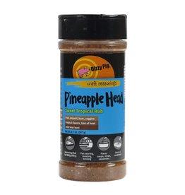 Pineapple Head Sweet Tropical Rub Seasoning Spice - Dizzy Pig - 8 oz Shaker Bottle