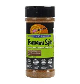 Tsunami Spin Poultry & Fish Rub Seasoning Spice - Dizzy Pig - 8 oz Shaker Bottle