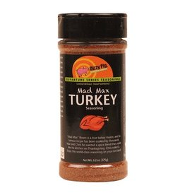 Mad Max Turkey Rub Seasoning Spice - Dizzy Pig - 8 oz Shaker Bottle