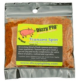 Tsunami Spin Poultry & Fish Rub Seasoning Spice - Dizzy Pig - Individual Size