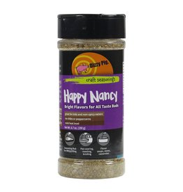 Happy Nancy Rub Seasoning Spice - Dizzy Pig - 8 oz Shaker Bottle