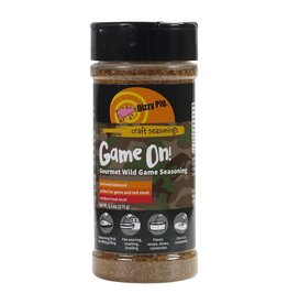 Game On! Rub Seasoning Spice - Dizzy Pig - 8 oz Shaker Bottle