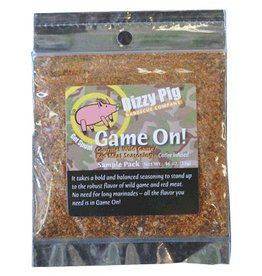 Game On! Rub Seasoning Spice - Dizzy Pig - Individual Size