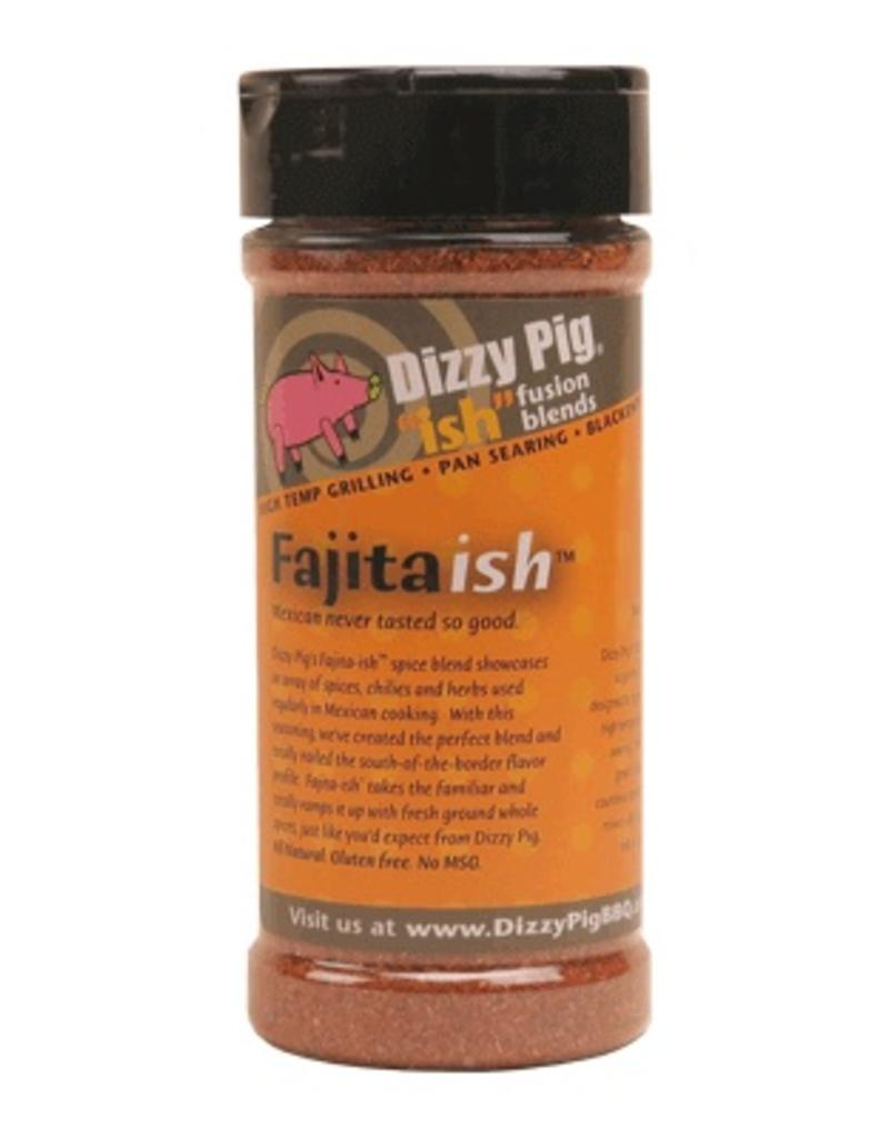 """Ish"" Fusion Blend Fajita-ish Rub Seasoning Spice - Dizzy Pig - 8 oz Shaker Bottle"