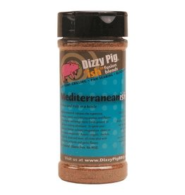 """Ish"" Fusion Blend Mediterranean-ish Rub Seasoning Spice - Dizzy Pig - 8 oz Shaker Bottle"