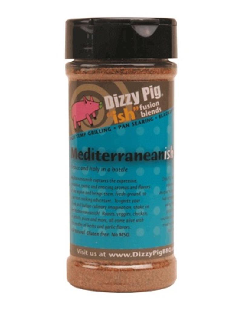 """Ish"" Fusion Blend Mediterranean-ish Rub Seasoning Spice - Dizzy Pig - 8 oz Shaker Bottle"