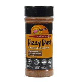 Dizzy Dust Regular Rub Seasoning Spice - Dizzy Pig - 8 oz Shaker Bottle