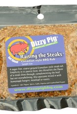 Raising the Steaks Rub Seasoning Spice - Dizzy Pig - Individual Size