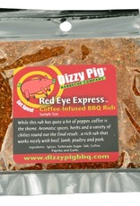 Red Eye Express Rub Seasoning Spice - Dizzy Pig - Individual Size