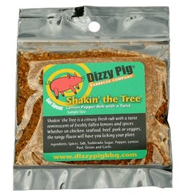 Shakin' the Tree Rub Seasoning Spice - Dizzy Pig - Individual Size