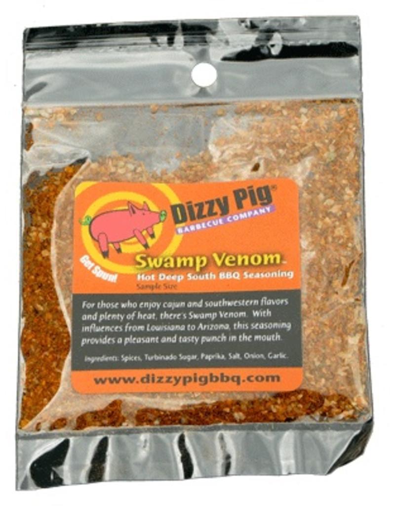 Swamp Venom Deep South Hot Rub Seasoning Spice - Dizzy Pig - Individual Size