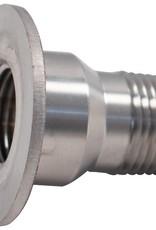 """Stainless 1/2"""" Coupling Adapter for Speidel Plastic Tank Fermenters"""