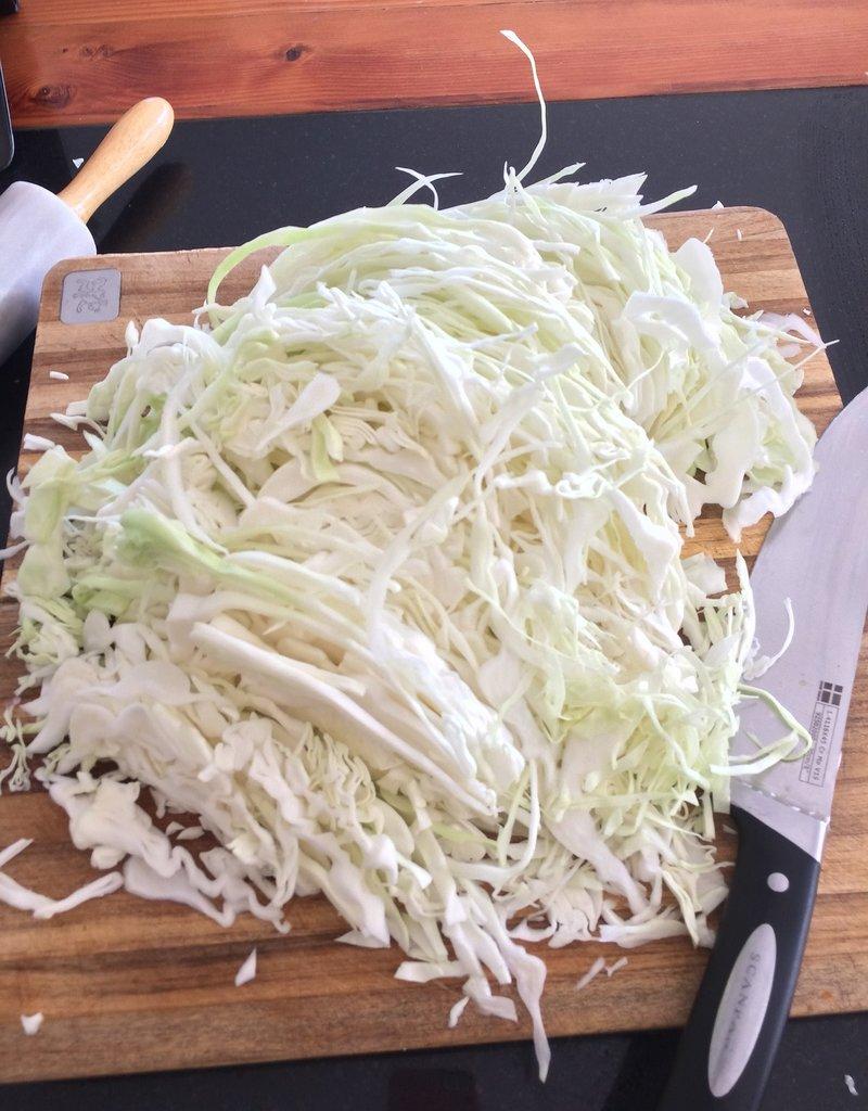 Making Sauerkraut 101 Class - Thursday, 11/7, at 6:30 pm