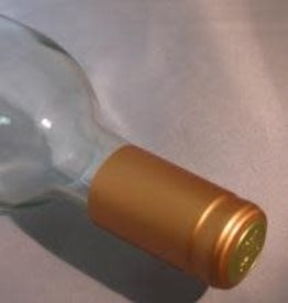 PVC Wine Bottle Shrink Capsules Solid Bronze (pkg 30)