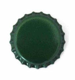 Beer Bottle Crown Caps (Green Oxygen Liner) - 144 ct