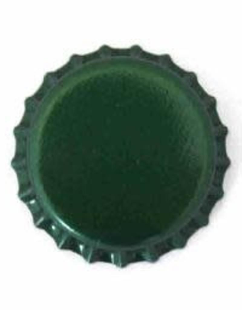 Beer Bottle Crown Caps (Green Oxygen Liner) - 144 ct