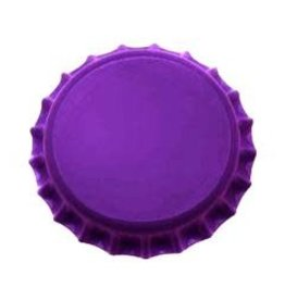 Beer Bottle Crown Caps (Purple Oxygen Liner) - 144 ct