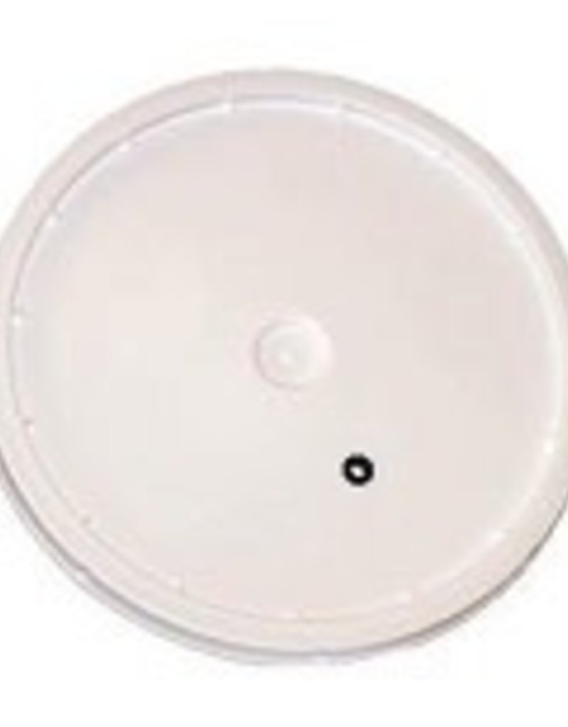 Lid for 2 Gallon Bucket - Drilled & Grommeted