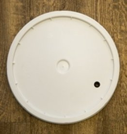 Lid for 7.8 Gallon Bucket - Drilled & Grommeted