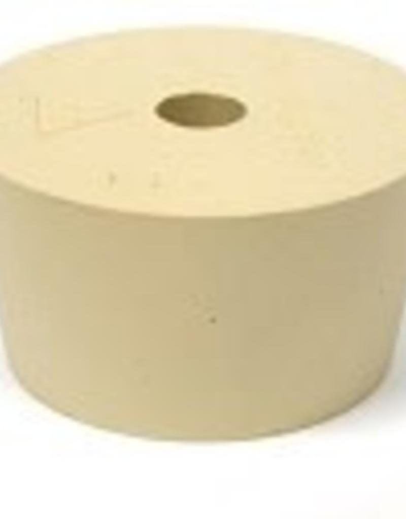 #10 Drilled Rubber Stopper / Bung