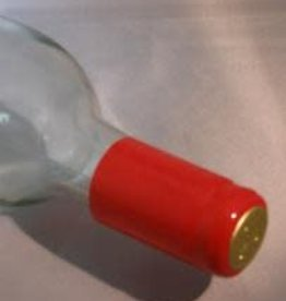 PVC Wine Bottle Shrink Capsules Red (pkg 30)