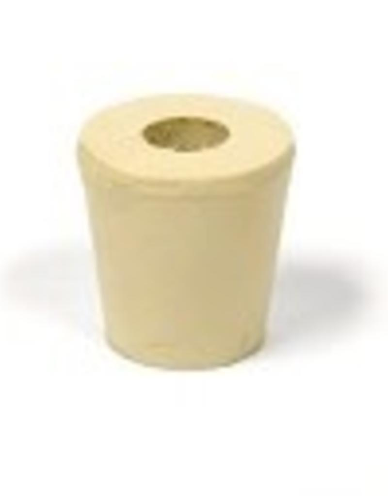 #3 Drilled Rubber Stopper / Bung